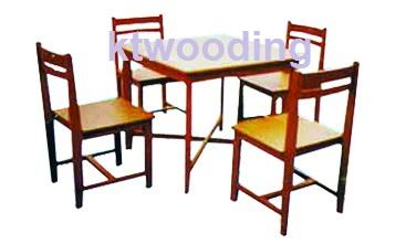 ชุดโต๊ะอ่านหนังสือ 4 ที่นั่ง-29