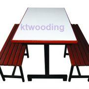 โต๊ะอาหารพร้อมเก้าอี้ kt43-0