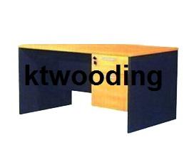 KTT113 M โต๊ะทำงานเมลามีน ลิ้นชักข้างขวา 2 ลิ้นชัก-53
