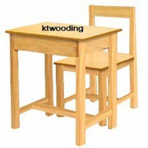 โต๊ะนักเรียน A4 ยางพารา -0